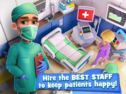 Dream Hospital MOD – Health Care Manager Simulator (Unlimited Gold/Diamonds) 6