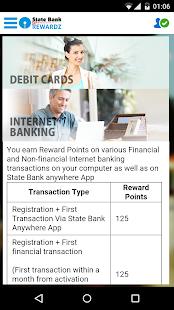 State Bank Rewardz- screenshot thumbnail