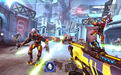 SHADOWGUN LEGENDS - FPS PvP Free Shooting Games APK screenshot thumbnail 15