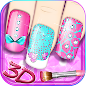 Cute Nails – 3D Princess Games