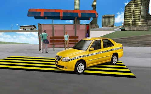 Big-City-Taxi-Drive-Simulation 4