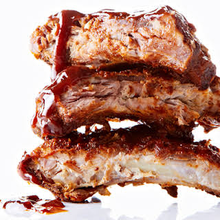 Oven Baked BBQ Ribs.