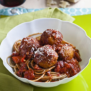 Skinny Meatballs With Sauce