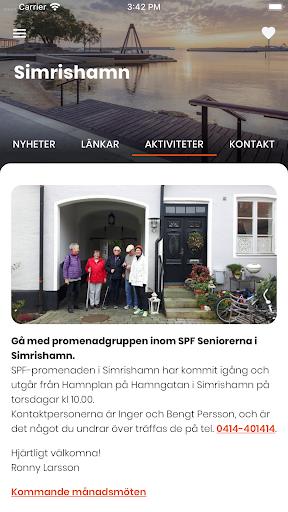 SPF Seniorerna screenshot 3
