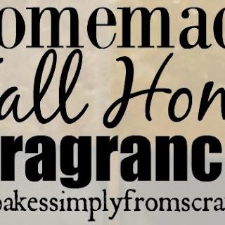 Homemade Fall Home Air Freshener Oil.