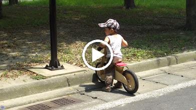 Video: 無法突破障礙 求救!  ( 孩子... 柱子是無法穿越的..)