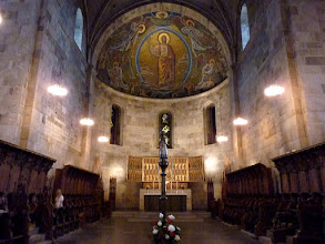 Photo: Die monumentale Chorapsis mit Christus Pantokrator