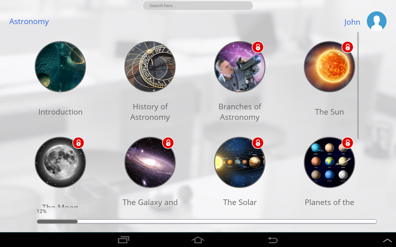 Learn Astronomy- screenshot