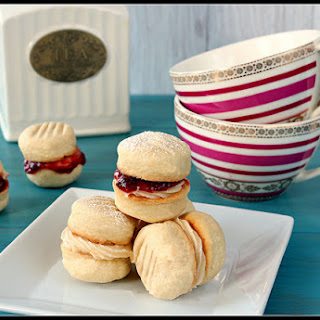 Melting Moments tea cookies