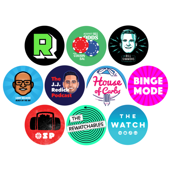 The Ringer Podcast Network Sticker 10-pack   The Ringer   Online ...