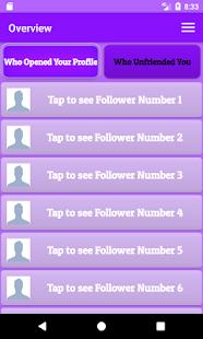 Social Tracker - náhled
