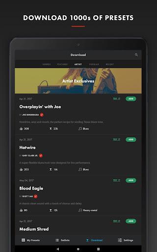 Fender Tone 3.0.1 screenshots 9