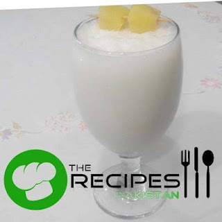Almond and Pineapple Shake.