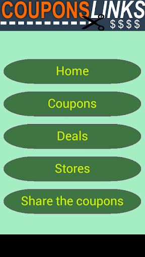 Coupons Links