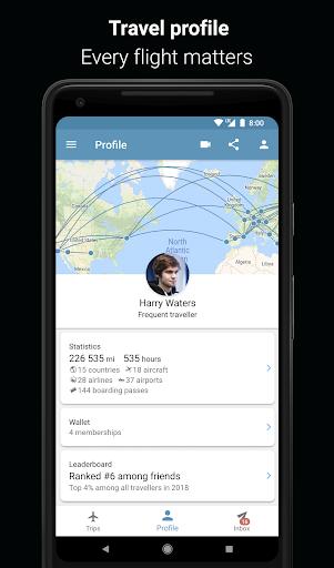 App in the Air - Travel planner & Flight tracker 4.0.9 screenshots 4