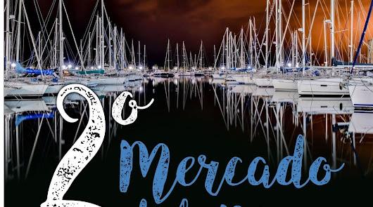El 'Mercado del Mar', artesanía en el Puerto de Aguadulce