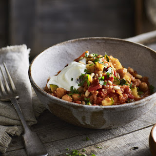 Chickpea, Vegetable And Couscous Stew.