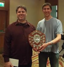 Photo: Winners - Kieran Dyke & Michael Byrne