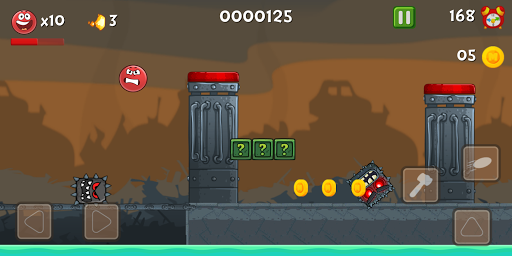 Red Ball Bounce 4 Hero vol 2 apkdebit screenshots 4