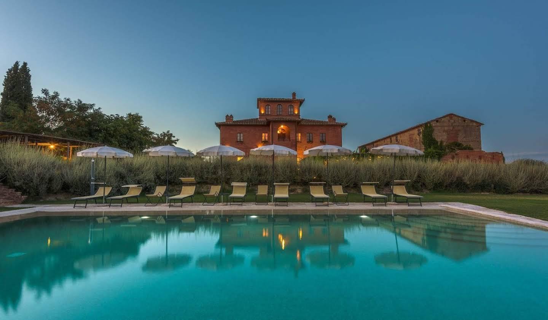 Villa avec jardin et terrasse Sinalunga