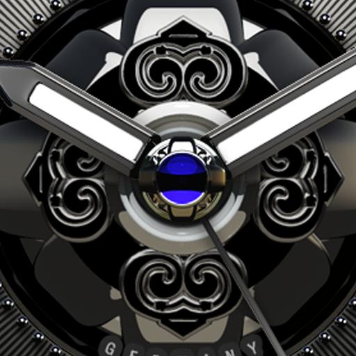 Thunder HD Analog Clock Widget