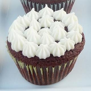 Not So Red Velvet Cupcakes.