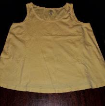 Photo: Yellow Maternity Tank by Duo Maternity XL $1