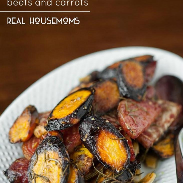 Roasted Rosemary Beets and Carrots Recipe | Yummly