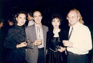Photo: Seth, Doris & Anders - Carlton 1986