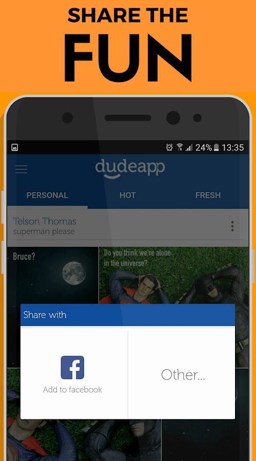 Dudeapp - Top Fun Pics & GIFs!- screenshot