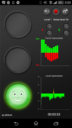 Merlin Noise Traffic Lights screenshot 1