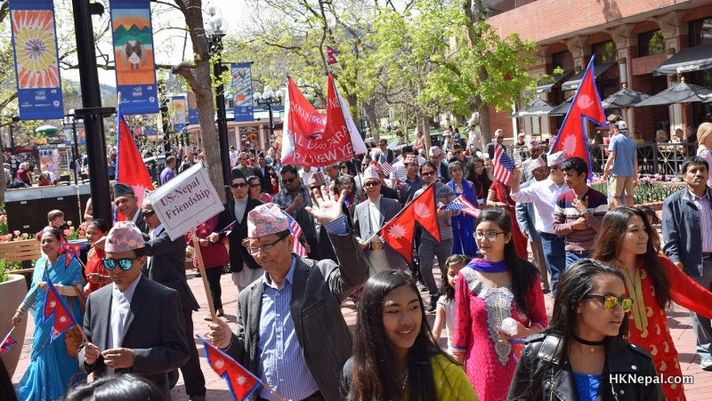 कोलोराडोमा यसरी मनाइयो 'नेपाल परेड डे'