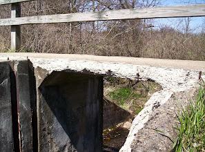 Photo: Walking bridge along Waterloo-Pinckney Trail, April 27th