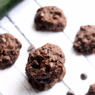 Fudgey Black Bean Zucchini Cookies