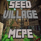 The Seed Village map for MCPE