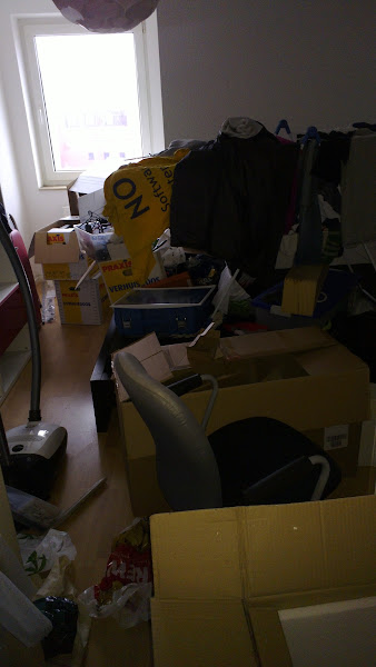 Photo: And the guest room has his fair share of mess too. We need a visitor to force us to clean up... Interested?