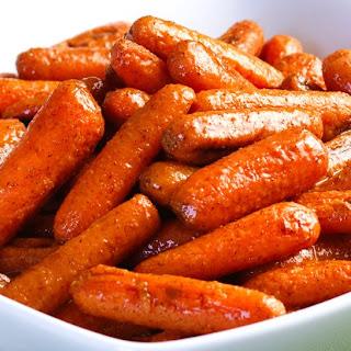 Cinnamon Roasted Baby Carrots.