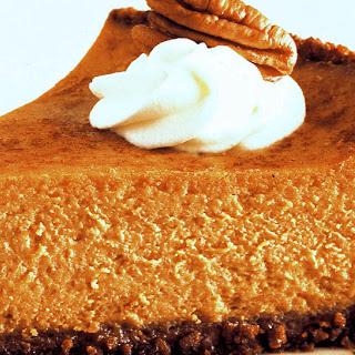 Pumpkin Pie Cheesecake.