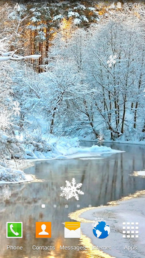 Winter Landscapes Wallpaper- screenshot
