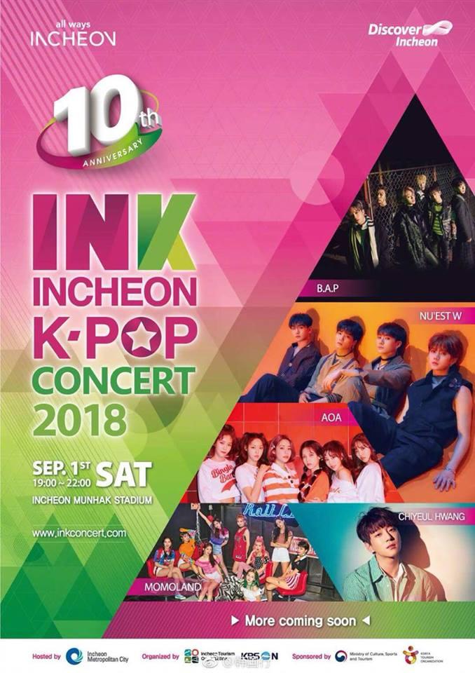 2018 ink concert lineup 1