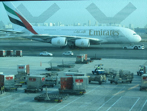 Photo: L'un des avions de Emirates airline