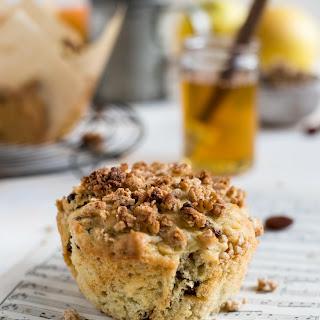 Apple and Granola Breakfast Muffins.