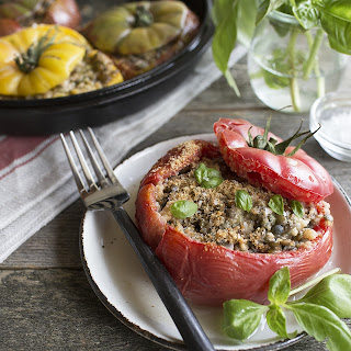 Italian Lentil Stuffed Tomatoes Recipe
