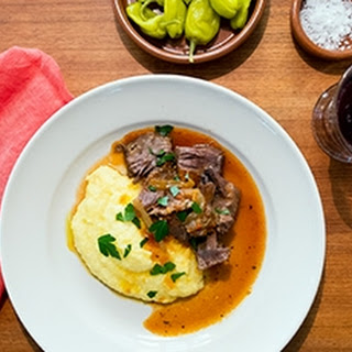 Mezzetta-Style Italian Pot Roast with Polenta