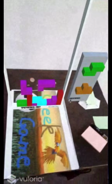 AR Tetris