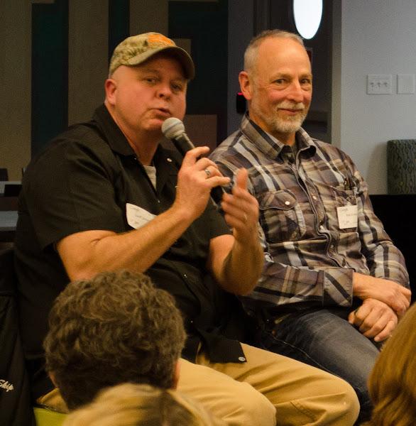 Photo: Geoff Janowski (left) and Rob Gregory.