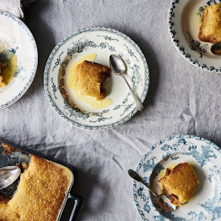 South African Malva Pudding.