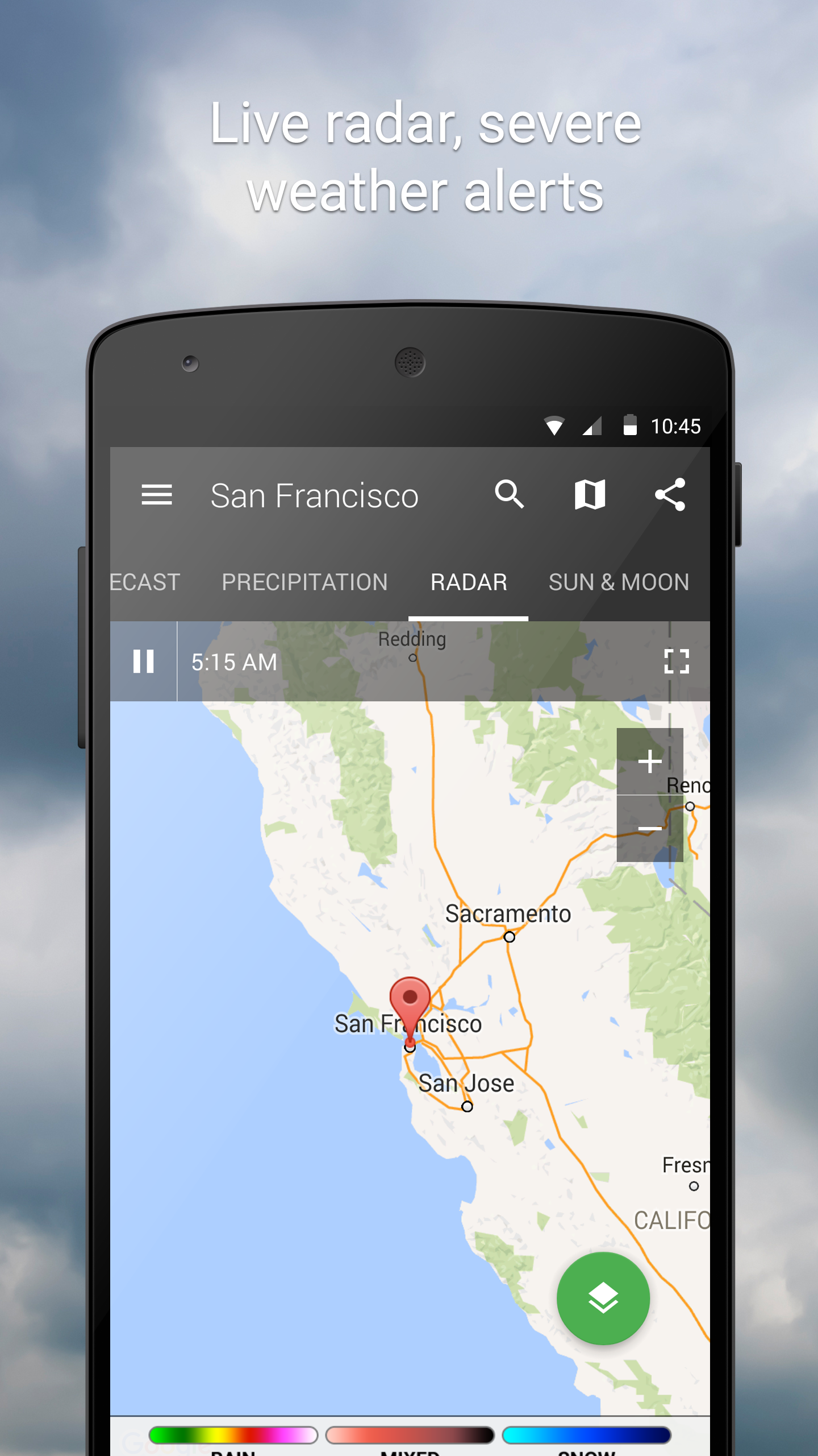 1Weather:Widget Forecast Radar screenshot #3