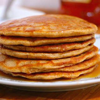The Best Healthy Whole Wheat Pancakes