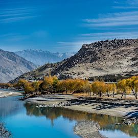 Road to Khaplu by Aamer Rabbani - Landscapes Travel